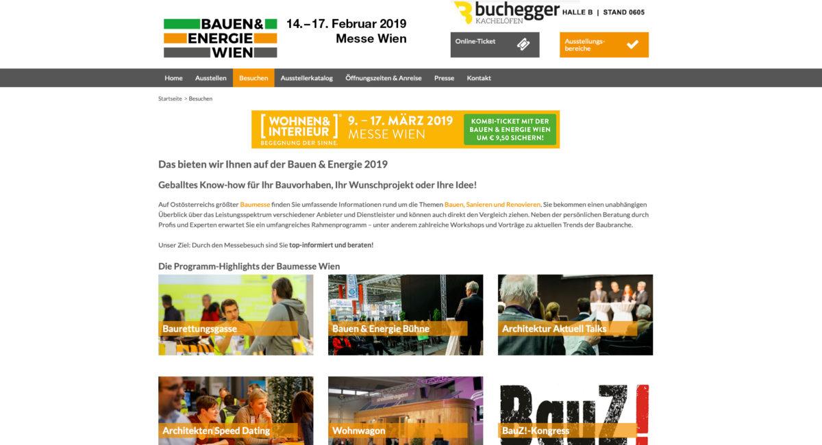 Messe Bauen&Energie 2019