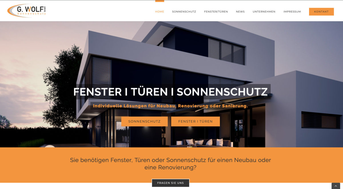Neue Website G-WOlf