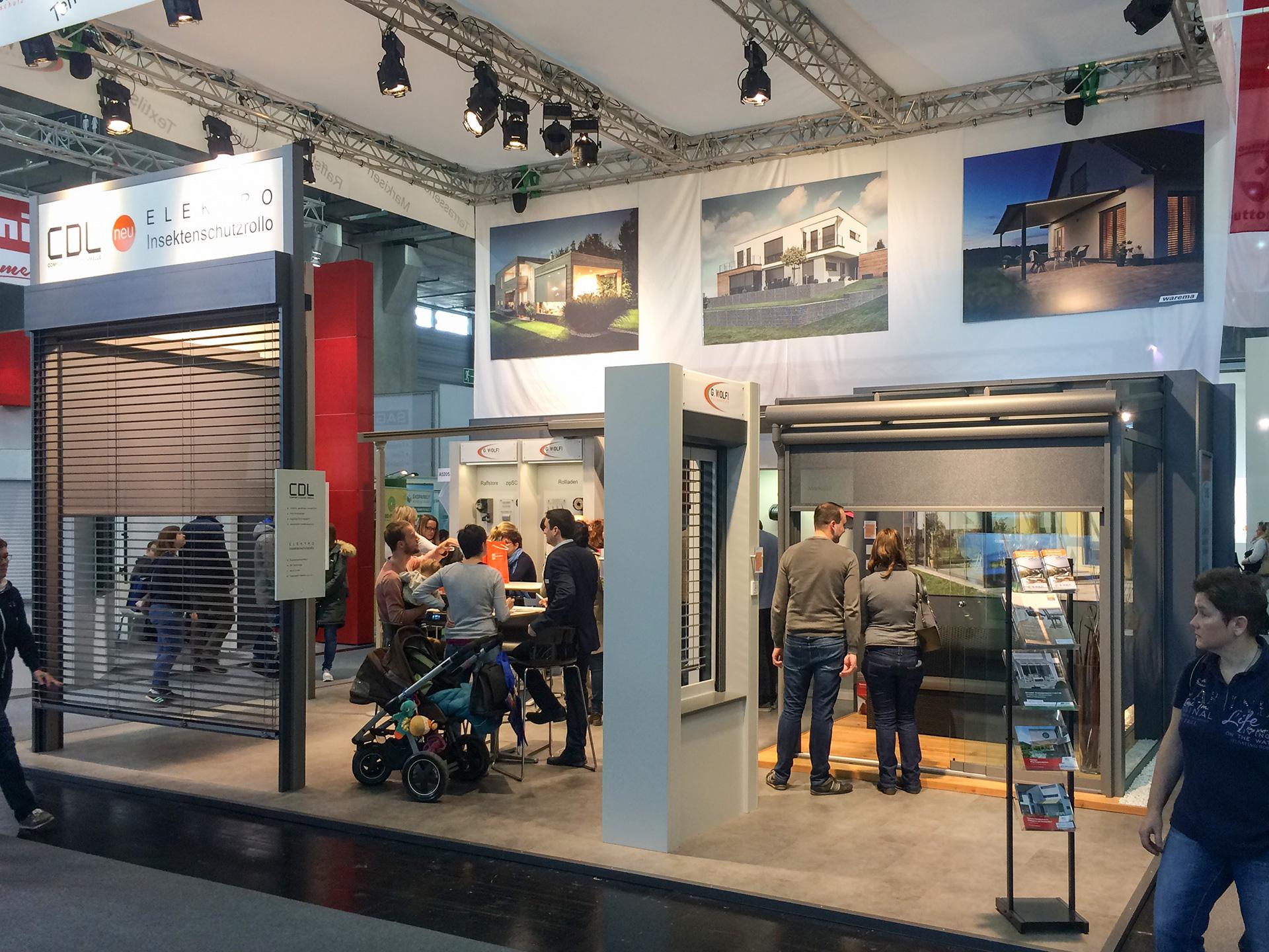 G.WOLF Sonnenschutz auf der Bauen & Energie 2019