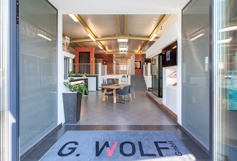 G.WOLF Schauraum Drasenhofen - Fenster, Türen Sonnenschutz